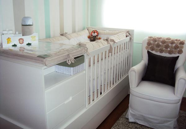 decoracao quarto bebe pequenos ambientes: de como decorar Quartos Pequenos com Berços de Bebé:Decoração Top