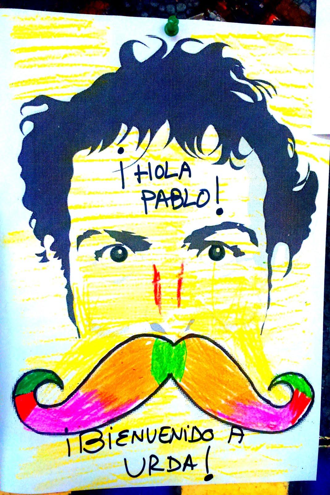 BIGOTES PARA PABLO...