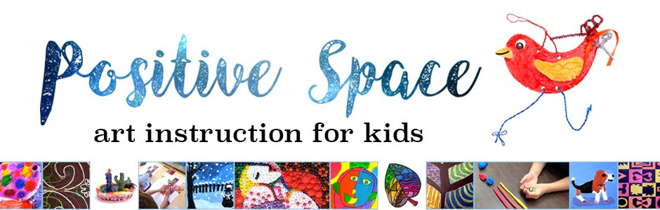 Positive Space: Art Instruction for Kids