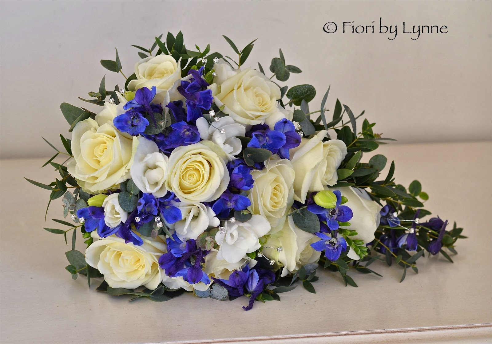 Wedding Flowers Blog Catherines Blue White And Silver Wedding