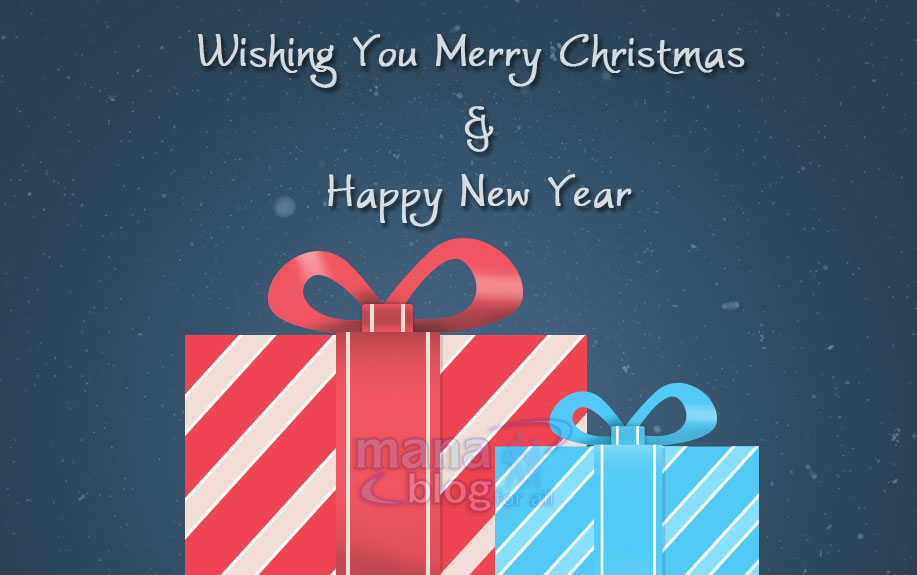 Wishing You Merry Christmas & Happy New Year