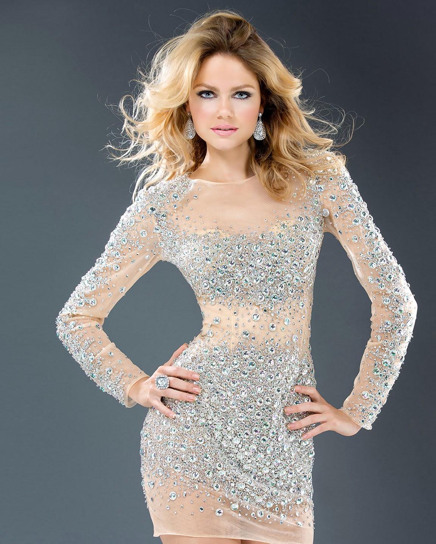 Vestidos cortos para Navidad y Fin de Año 2013 , 2014
