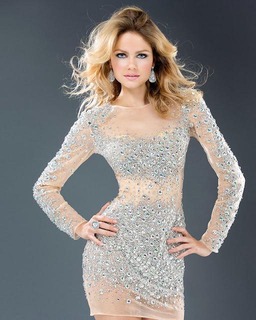 Vestidos cortos para Navidad y Fin de Año 2013 - 2014