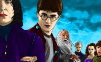 Colorea a Harry Potter | Toptenjuegos.blogspot.com