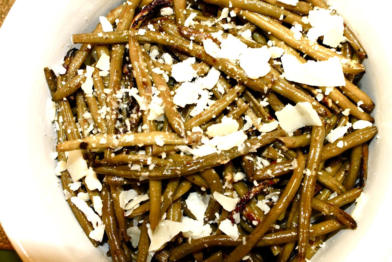 Dancing in the Minefields: Balsamic Roasted Green Beans