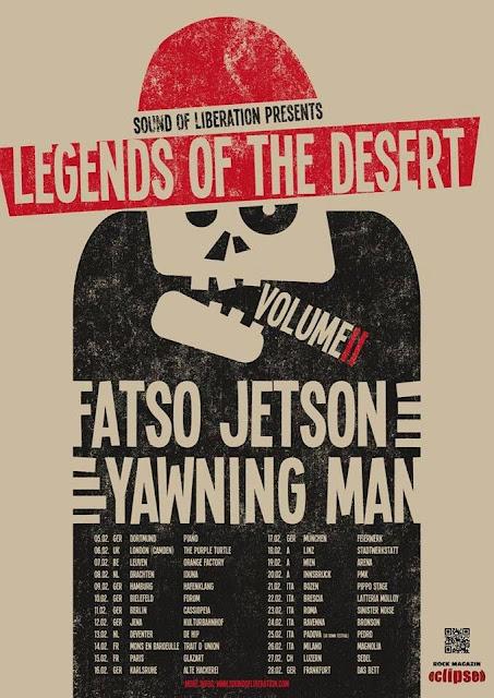 Yawning Man/Fatso Jetson @ Tour 2015