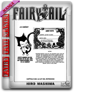 Fairy Tail Manga 346 HQ Sub Español