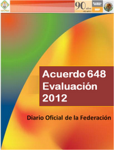 Acuerdo 648 Evaluación
