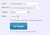 Related Post Widget generator on LinkWithi
