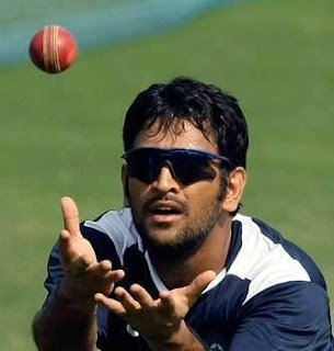 dhoni practice