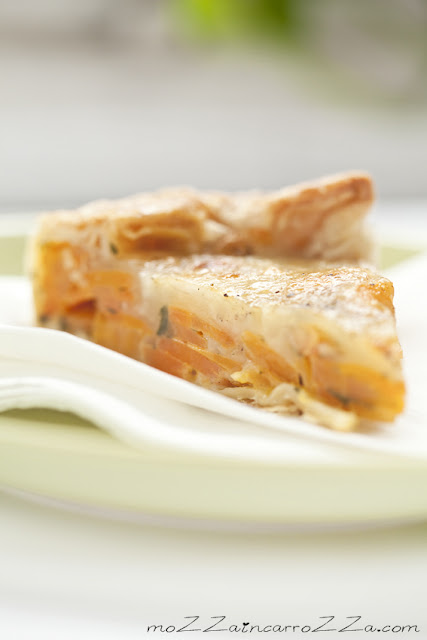 crostata di carote