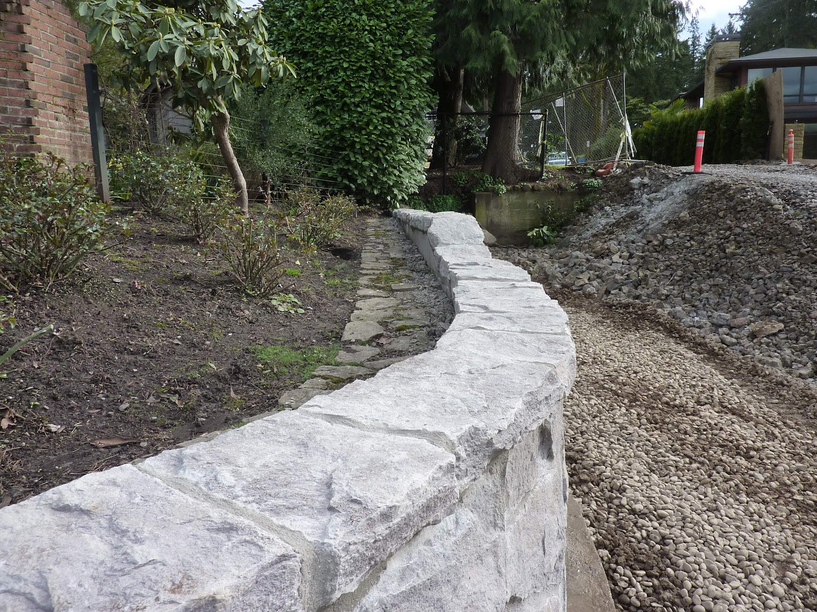 Granite Block Seawall : Boisineau masonry a few projects from continued