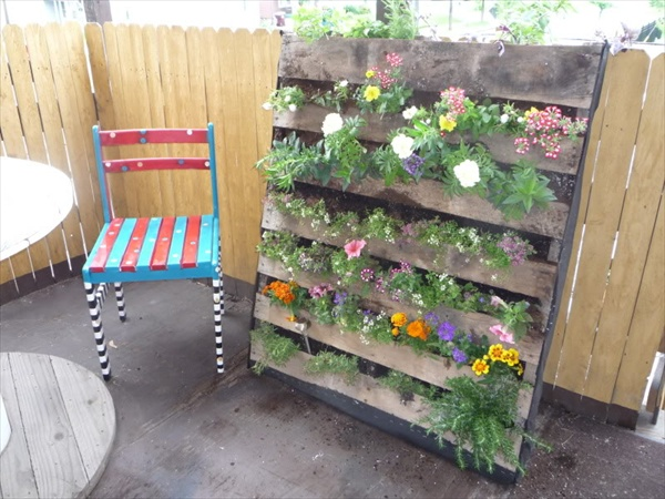 How to shimmer your pallet garden pallet furniture for Gardening using pallets