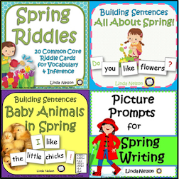 Spring Literacy Learning