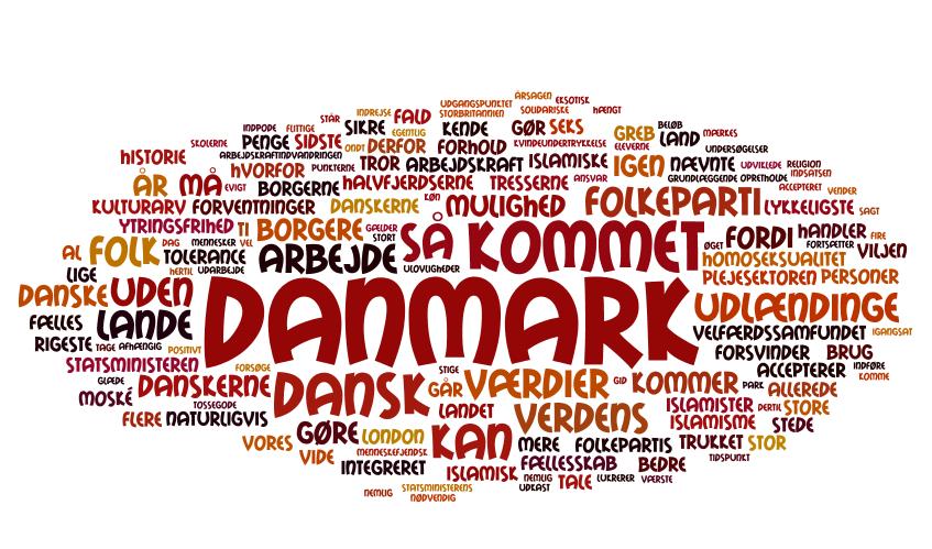 eskortere Dansk engelske ord