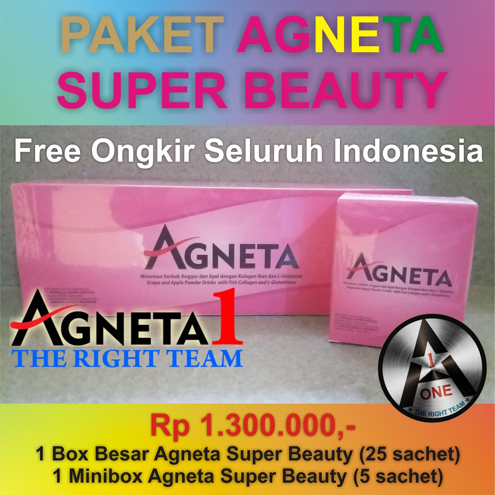 Paket Agneta Super Beauty (Anti Aging)