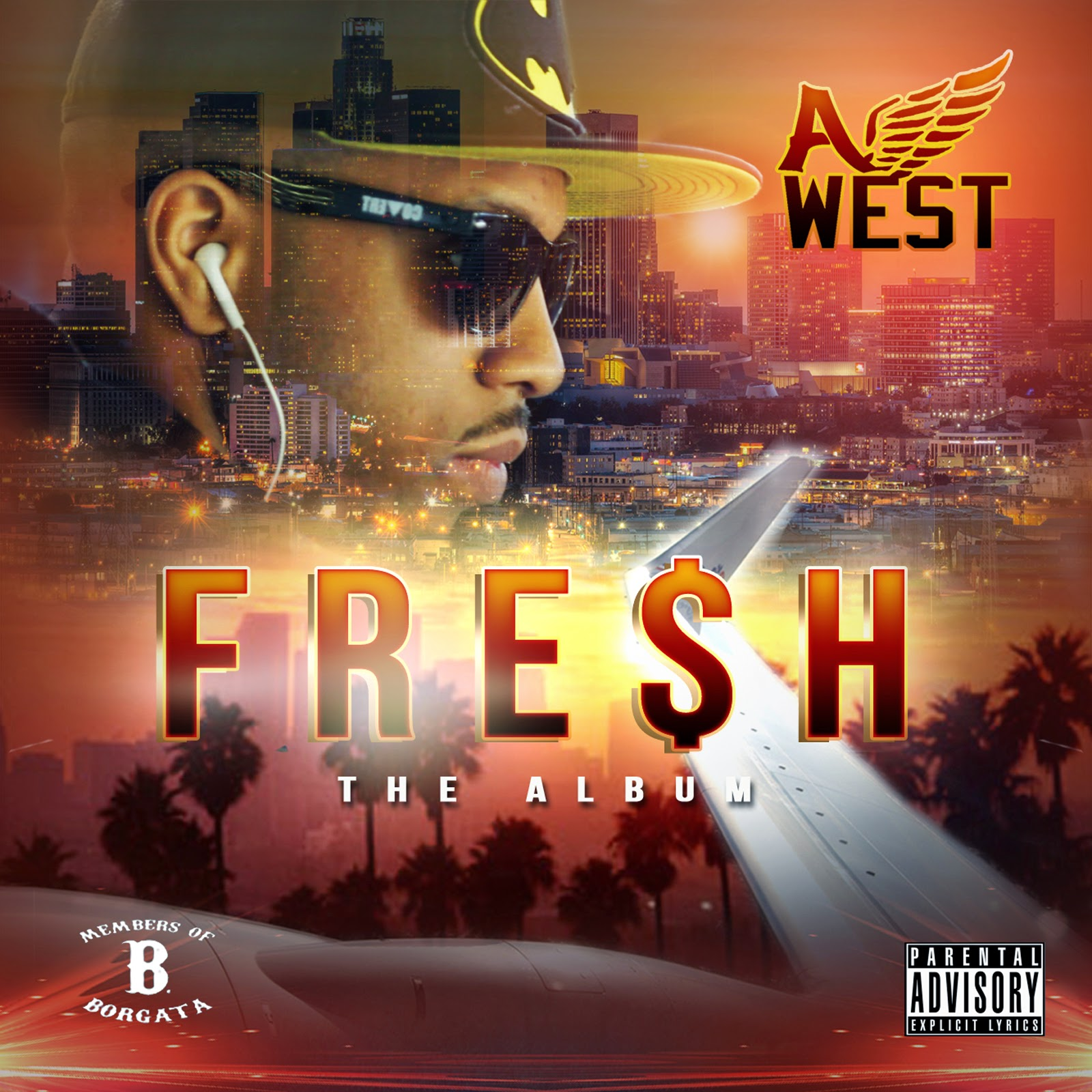 "A-West ""FRESH"" LP"