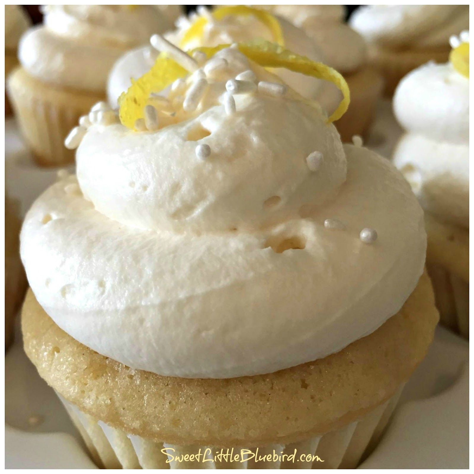 Lemon Curd Whipped Cream Cake Filling