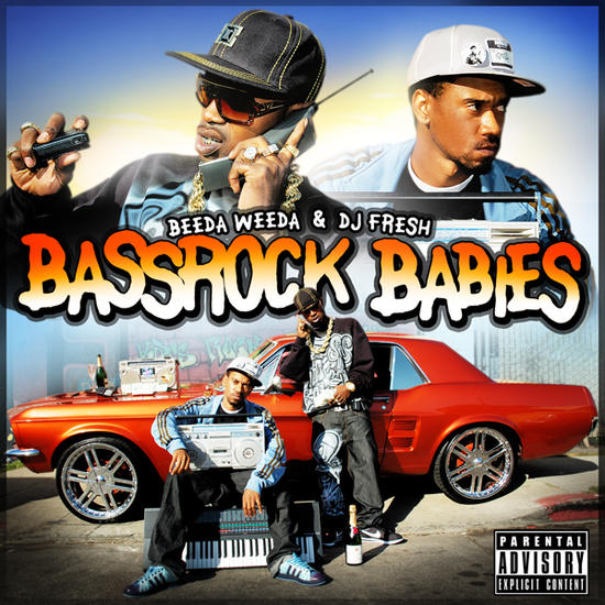 beeda weeda and dj fresh bassrock babies album cover