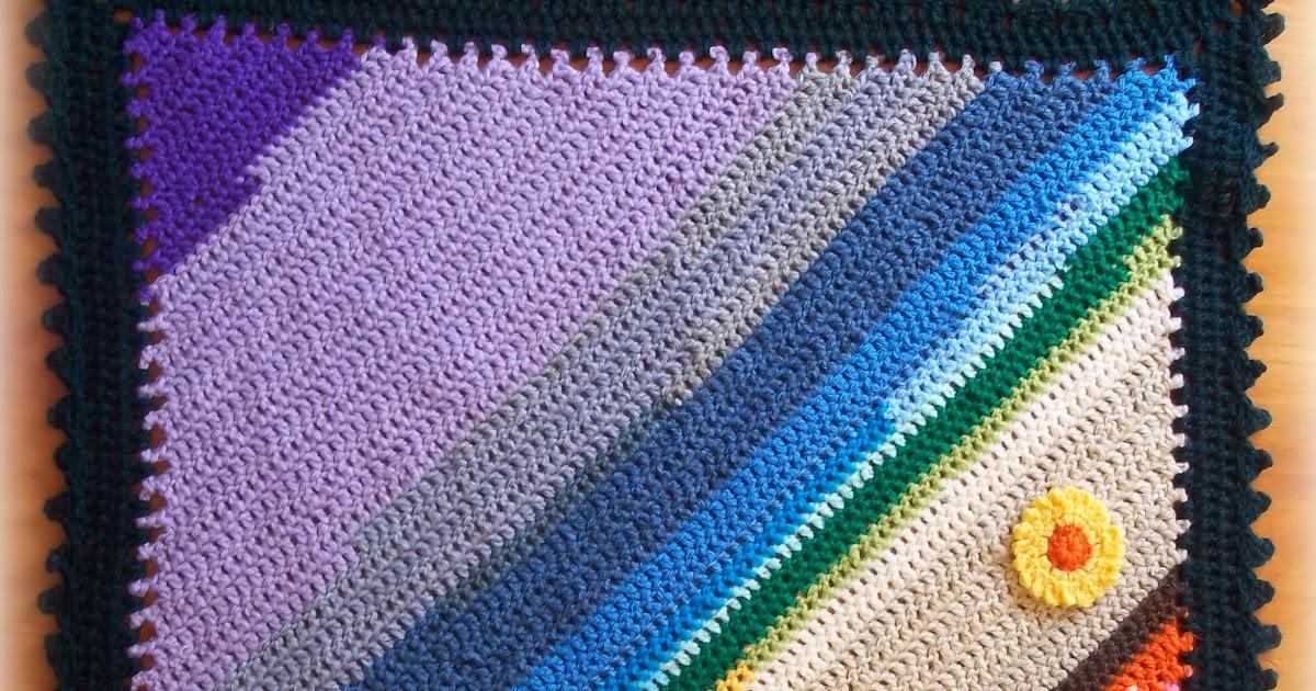 Zooty Owls Crafty Blog Diagonal Double Crochet C2c Double Crochet