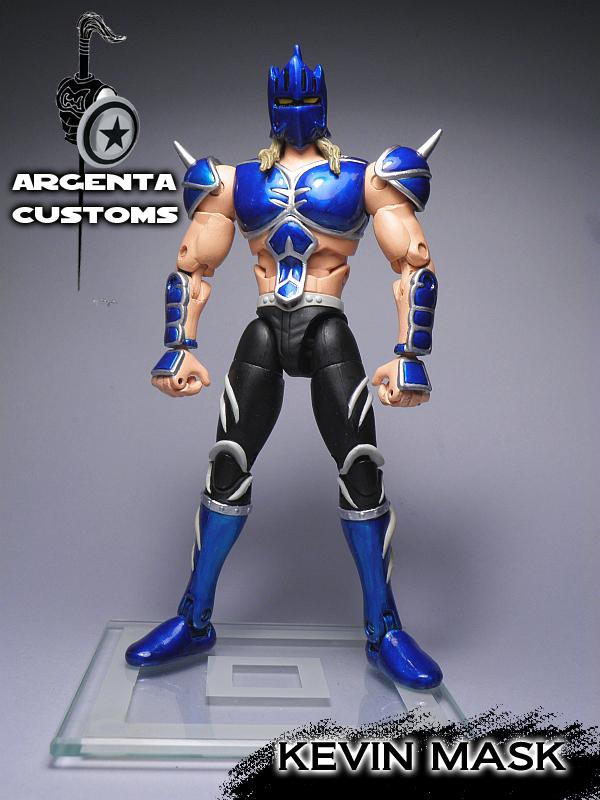 Argenta-2008 Customs: Kevin Mask Kinnikuman Nisei custom ...  Kevin Mask Kinnikuman