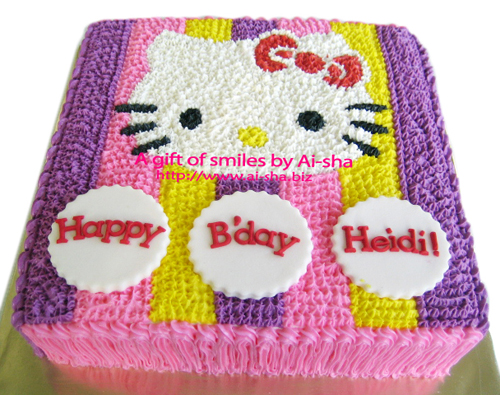Birthday Cake Hello Kitty Puchong Jaya
