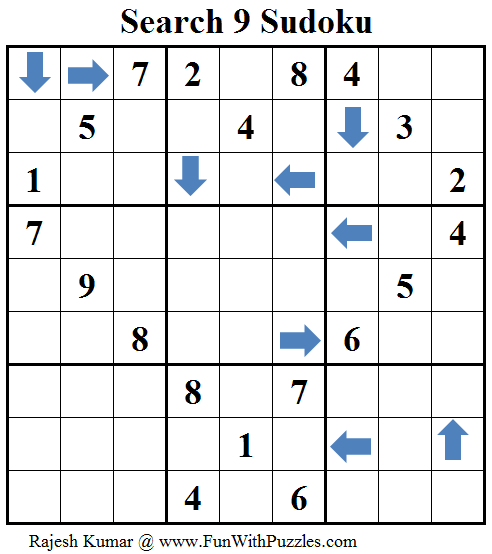 Search 9 Sudoku (Daily Sudoku League #114)