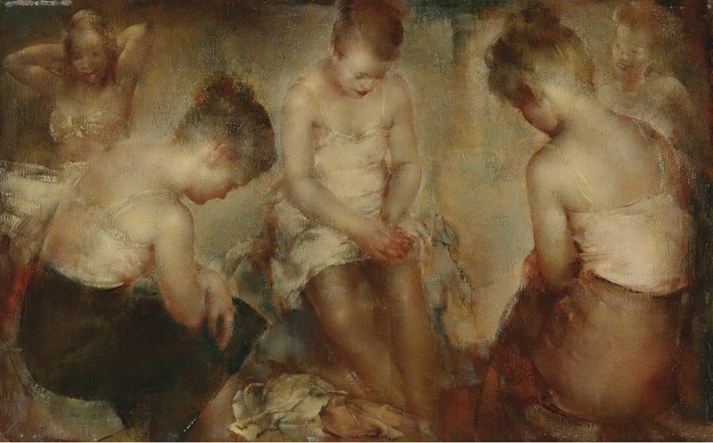 Grigory Gluckmann ~ The Models