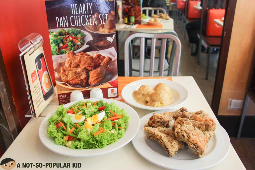 Hearty Pan Chicken Set - Pancake House