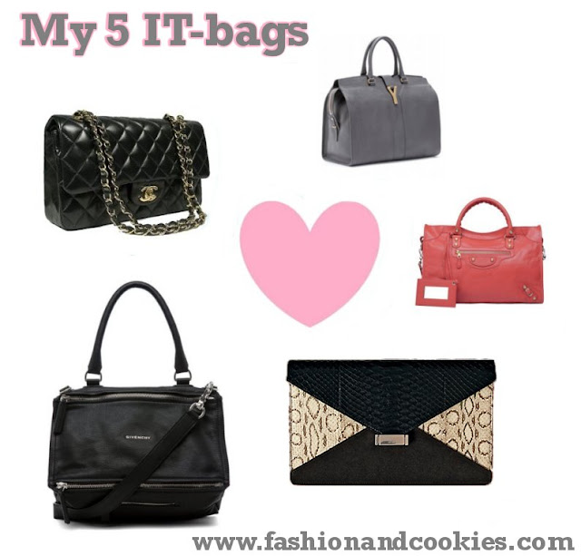 My 5 IT-bags list - Fashion and Cookies