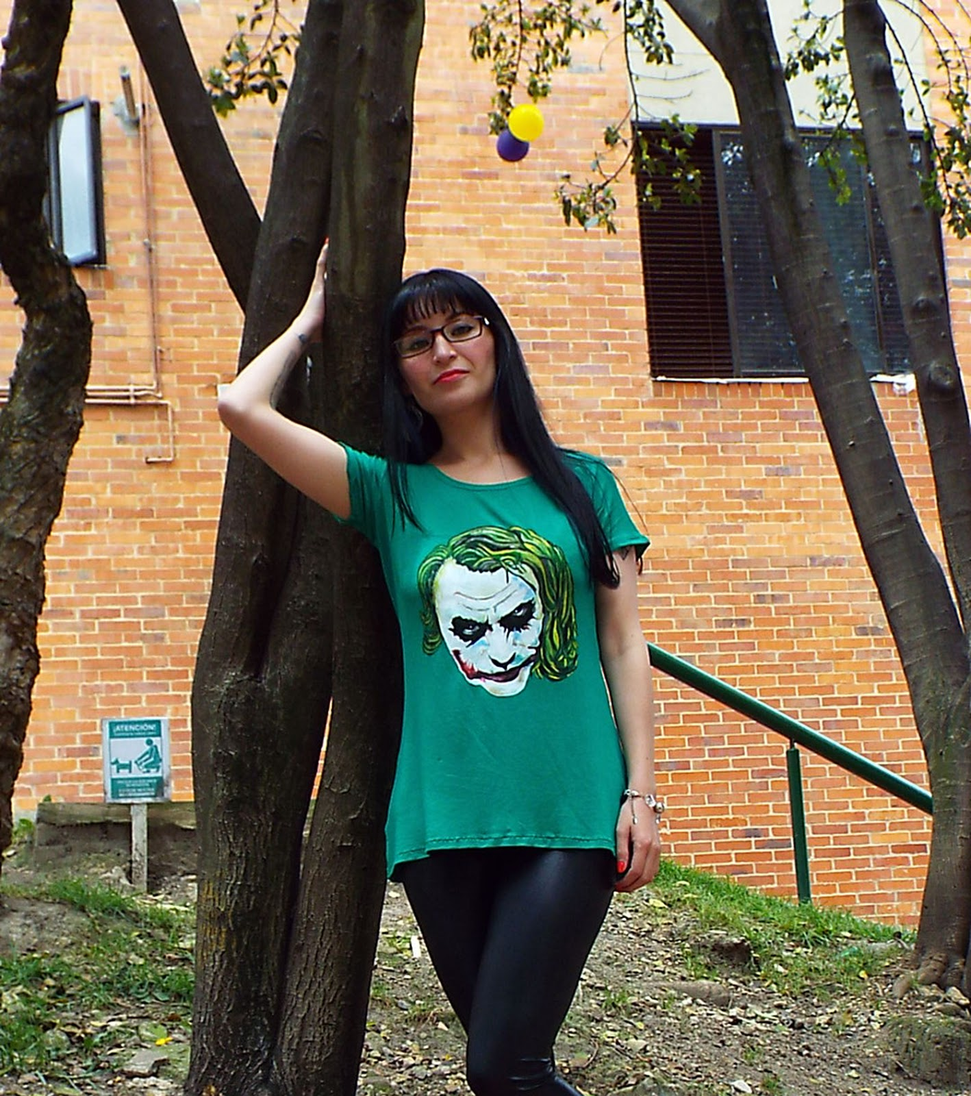 DIY como hacer playera Joker