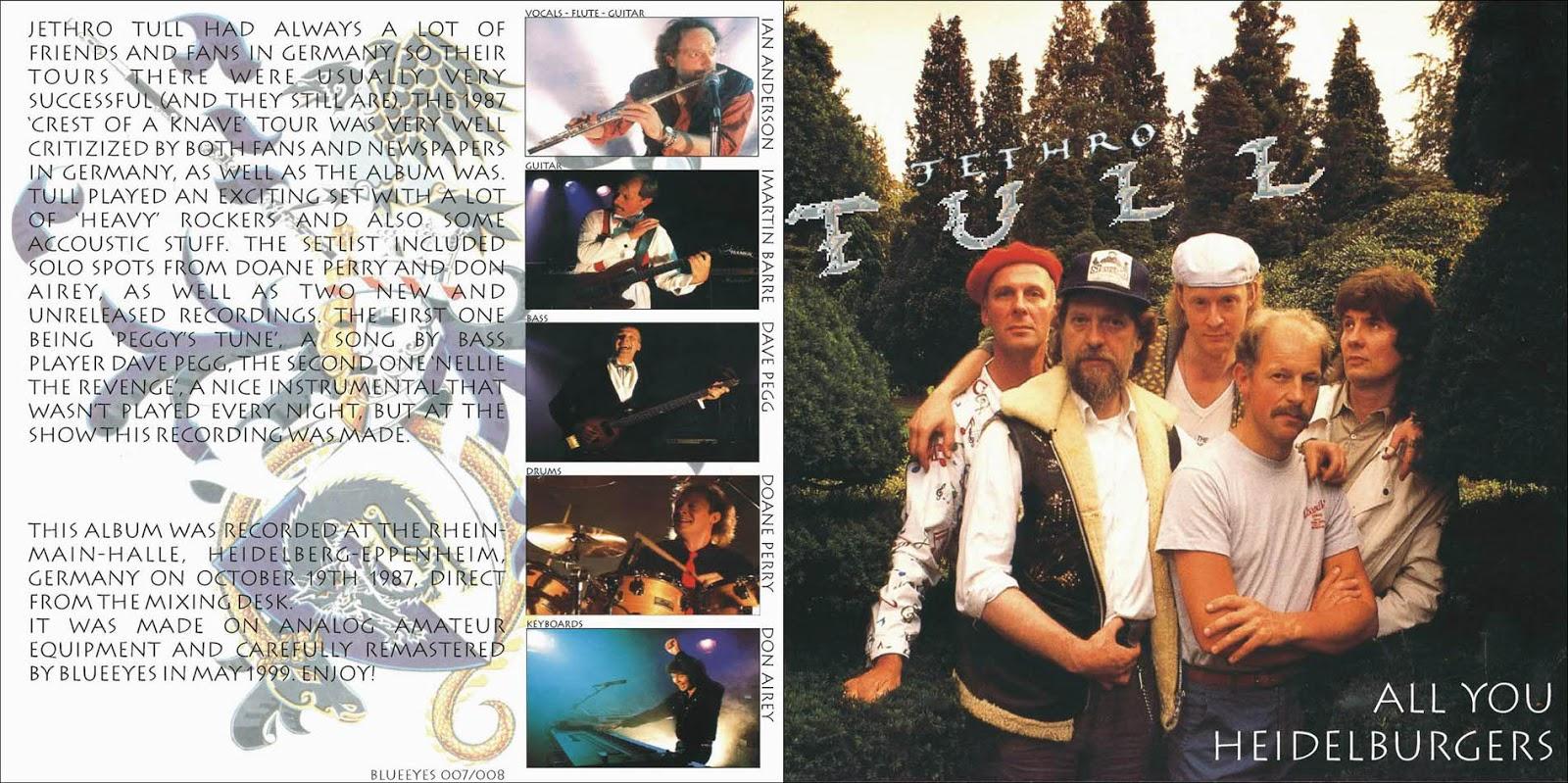 Jethro Tull Tour  Lineup