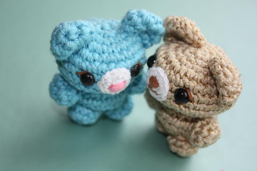 Amigurumi Little Bear : HAPPYAMIGURUMI: Cute little amigurumi bears! /petits ours ...