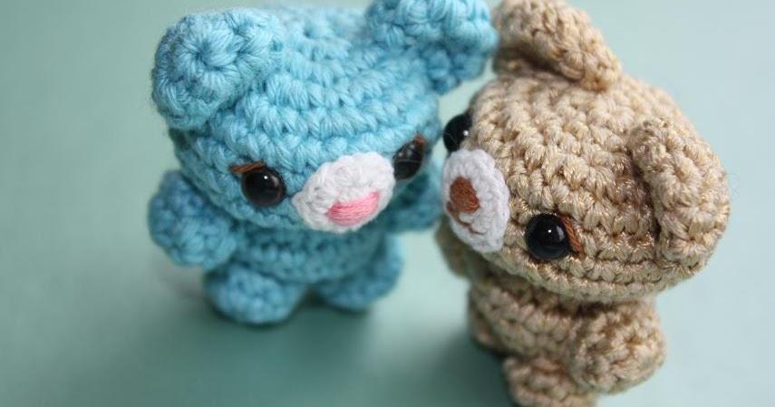 Tiny Amigurumi Bear Pattern : HAPPYAMIGURUMI: Cute little amigurumi bears! /petits ours ...
