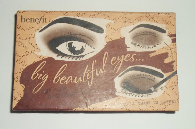 photo of Benefit big beautiful eyes neutral eyeshadow palette