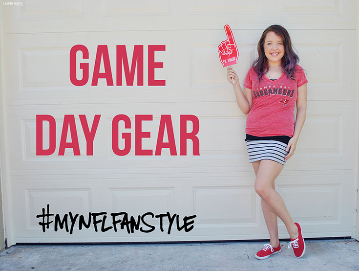 There's no shame in my game, I dress to impress for game day and today I'm sharing SEVEN lovely football fanatic looks! #MyNFLFanStyle