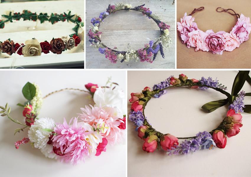 En la botica trends corona de flores - Coronitas de flores ...