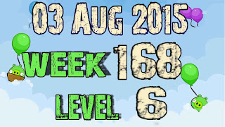 Angry Birds Friends Tournament level 6 Week 168