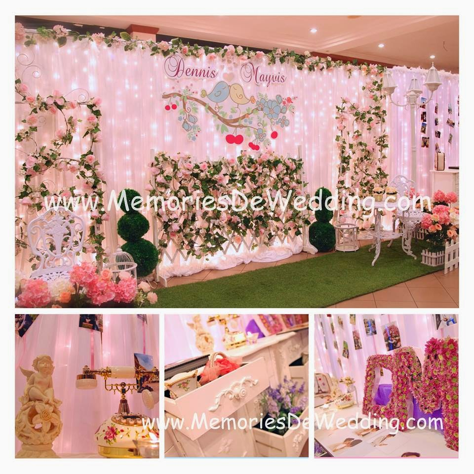 Memories de wedding malaysia corporate event wedding planner 2012 mayvis dennis love bird garden theme at bukit jalil gold club resort junglespirit Image collections