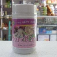 obat herbal sari rapet