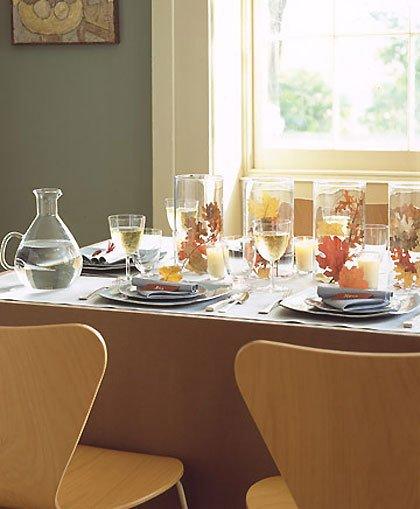 Martha Stewart Thanksgiving Table