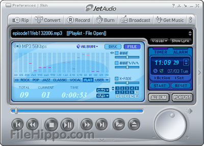 jetAudio 8.1.0 Basic Free Download