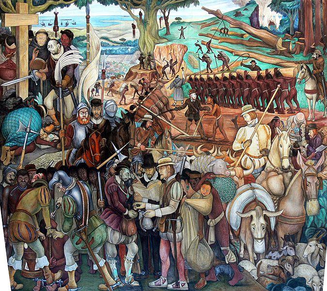 Novel adventurers don t say it paint it mexico s for Mural de rivera