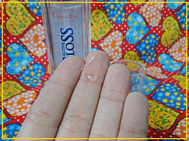 Textura do Produto - Active Gloss