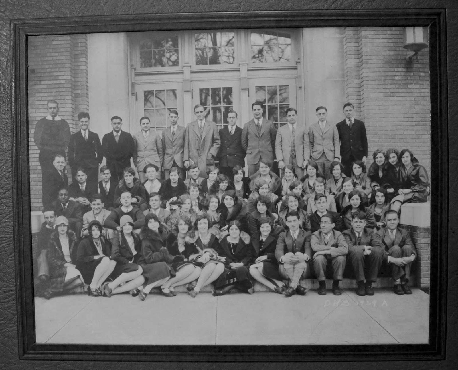 High School Class 1929