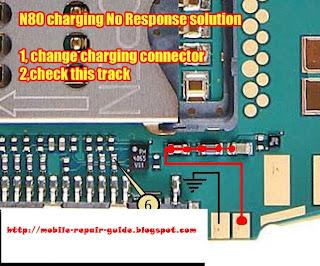 nokia n80 charging
