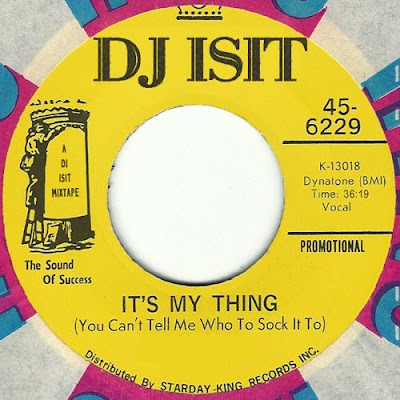 DJ Isit - It's My Thing