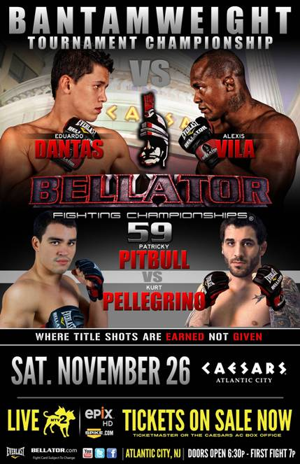 Mañana Vila en la final del torneo BELLATOR Bellator+59