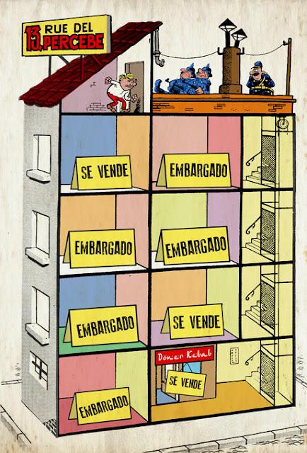 El 13 Rue del Percebe en el año 2013