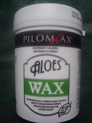 PILOMAX Aloes Wax - nawilżająca i regenerująca maska do włosów przetłuszczających się - opinia